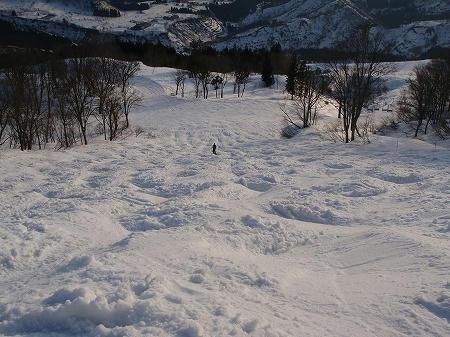 八海山スキー場コブ