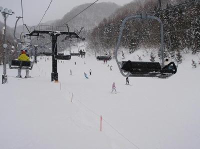 水上宝台樹スキー場ファミリーゲレンデ