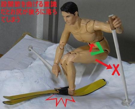股関節で吸収するとお尻が落ちる