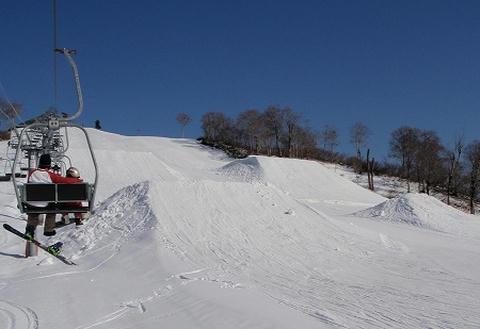 奥只見丸山スキー場 テーブルトップ