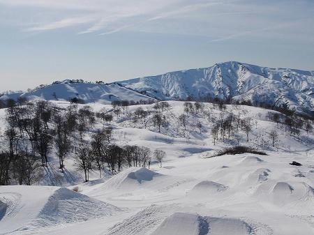 奥只見丸山スキー場 パーク