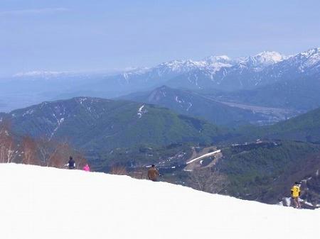 いわっぱらスキー場 八海山