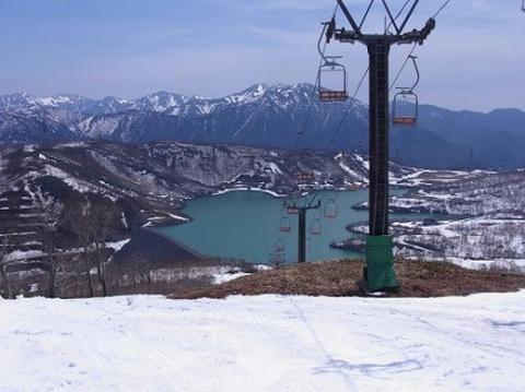 かぐらスキー場 田代湖