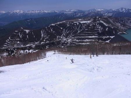 かぐらスキー場 ジャイアントコース