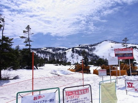 かぐらスキー場 バックカントリーエリア