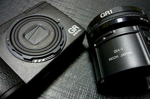 GRdigital GH-1 フード&アダプタ