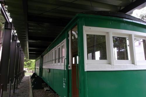 旧沼尻駅 ディーゼル機関車