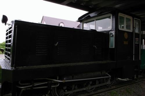 旧沼尻駅 ディーゼル機関車2