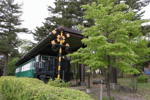 旧沼尻駅 ディーゼル機関車3