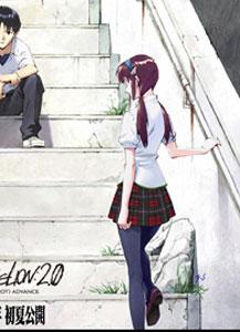 ヱヴァンゲリヲン新劇場版:破の広告_マリ