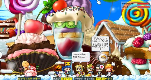 お菓子たくさん