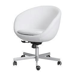 回転椅子・白