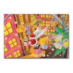 サンタのイラスト2.ポストカード
