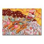 サンタのイラスト3.ポストカード