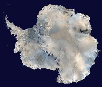 南極大陸の氷床