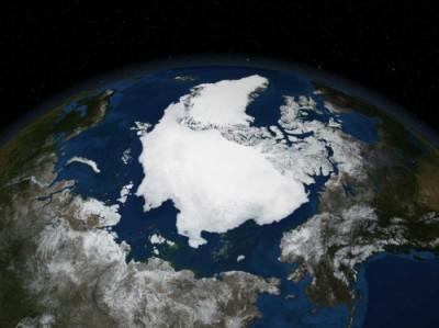 2005年の北極海