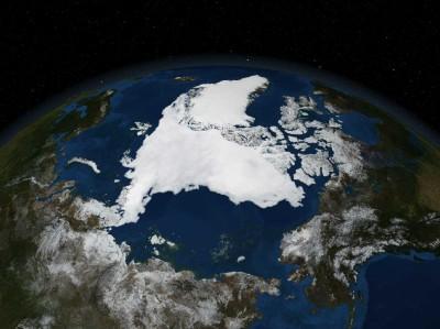 2007年の北極海
