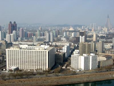 ◆平壌市中心部=2枚 2枚目