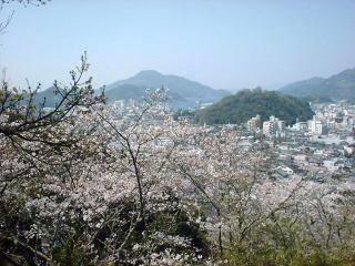 桜の頃はこんな風景