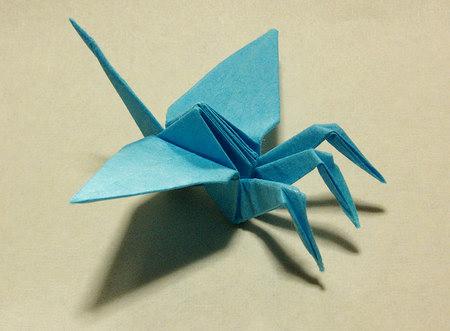 簡単 折り紙:鶴の折り紙-gazou777.blog.shinobi.jp