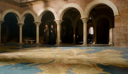 当ブログで「建物のセット建設中」で既に紹介しました。 更に今回、新しいセットの画像がUPされてましたのでご覧下さい。 画像:Wiki of  Thrones