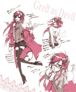 Grell as Devil