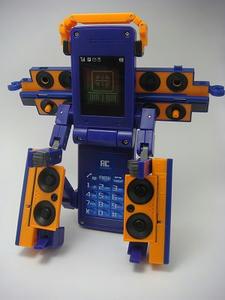 DXフォンブレイバー3(サード) スピーカー着身