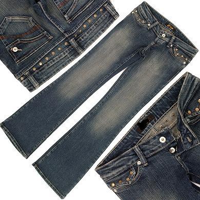 購入したスーパーローライズジーンズ(股上14cm)