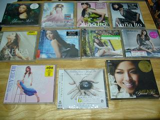最新アルバム以外の由奈ちゃんのCD達(笑)