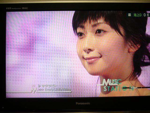 歌い終えて、笑顔のもっちー(^o^)