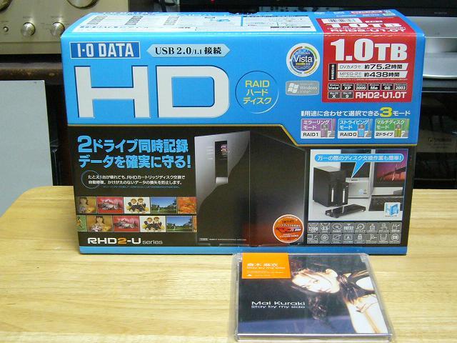 テラバイト&RAID構成HDD!