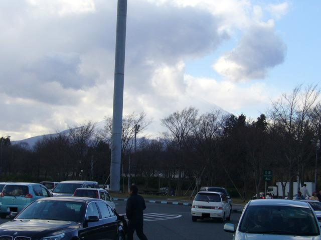 富士山は謎のベールに包まれた(泣)