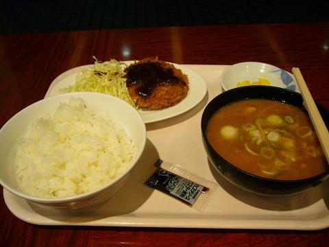 豚汁定食(爆)