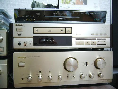 デリシャスを聴こう!(CDトランスポーター&アンプ)