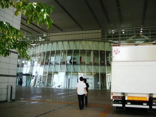 とうとうグランキューブ大阪に到着!