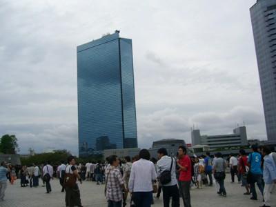 大阪城ホールに到着!