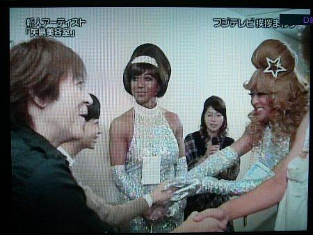 フジの廊下で、ELTと矢島美容室がご挨拶!