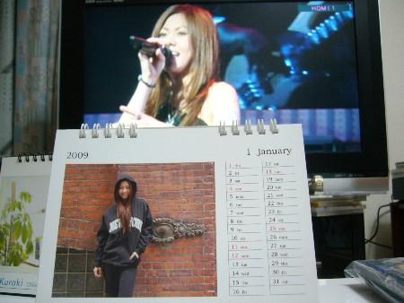 やっと、Mai-Kカレンダーの1月をめくりましたが…