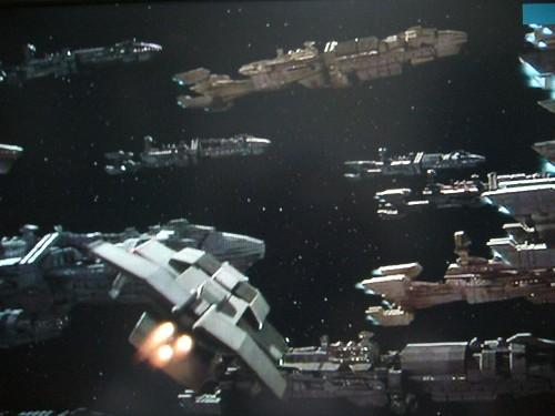 スターシップトゥルーパーズ1(地球軍艦隊が集結!)