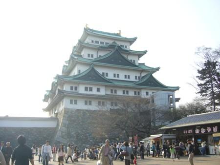 オフ会で名古屋城に