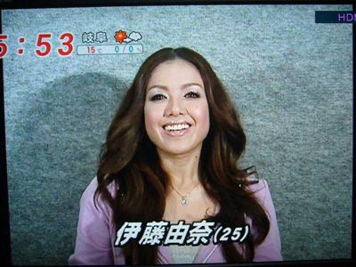 めざましテレビに出演!