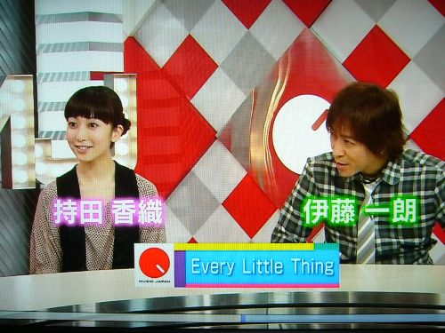 MUSIC JAPANでは、しっかりトークのコーナーも!