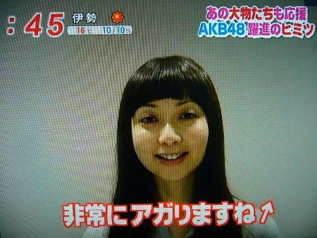 AKB48でテンションが上がるそうです↑