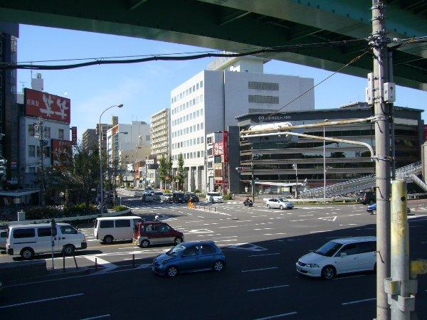 鶴舞公園の交差点の構造ですが…