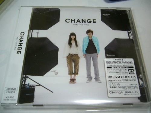 最新アルバム『CHANGE』!