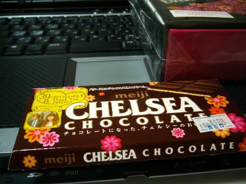 CHELSEAチョコレート