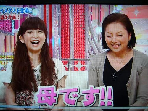 もっちーのお母さんがTV初登場!!