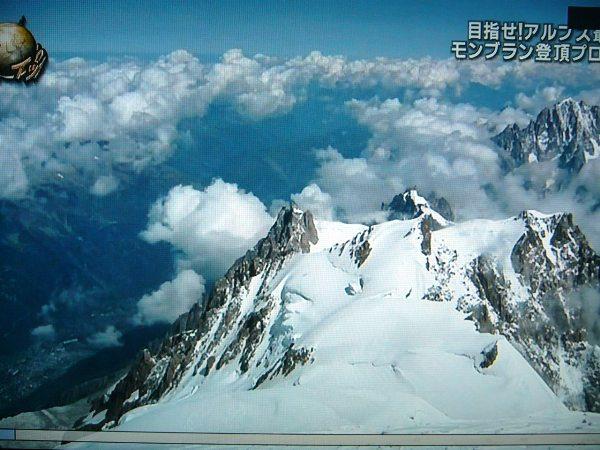 モンブラン頂上からの絶景!