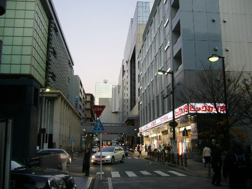 京都駅の繋がってるビックカメラ!