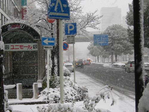 都心部の大雪1